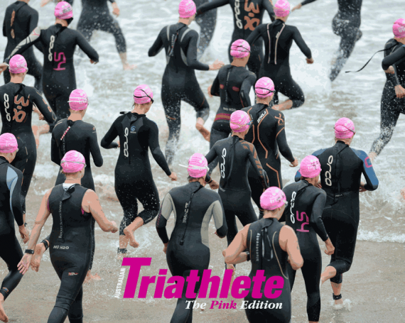 Australian Triathlete Pink
